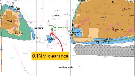 vessel ran aground Jazeera Reefer dragging anchor shipdiary.com