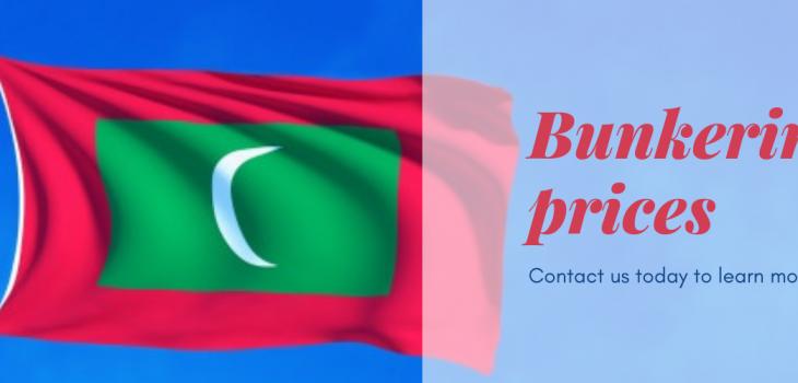 Bunkering prices Maldives flag Header