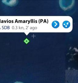 Rasfari reef grounding Navios Amaryllis