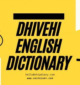 Dhivehi English ditionary