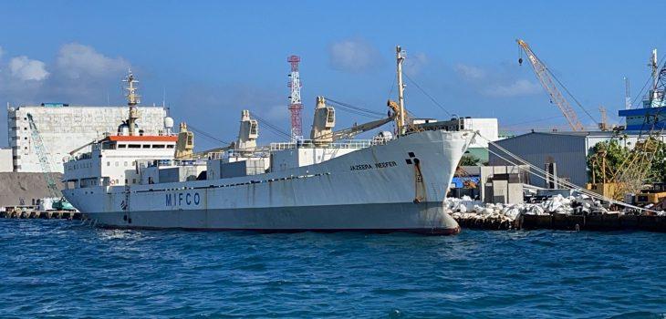 for MVR 27.8 million Jazeera Reefer