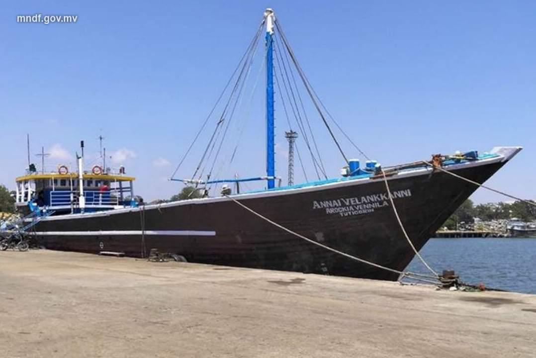 MSV ANNAI VAILANKANNI AROCKIA wooden boat shipdiary.com